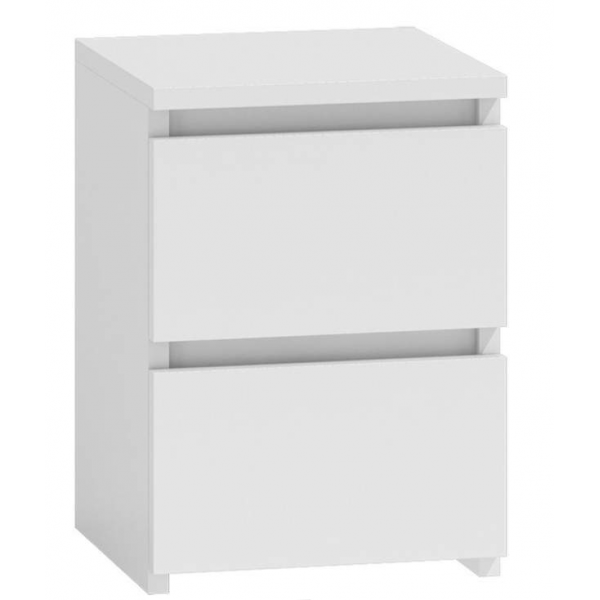 BEDROOM FURNITURE  Bedside Cabinet M2 WHITE