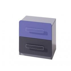 Bedroom Furniture Lido Bedside Cabinet