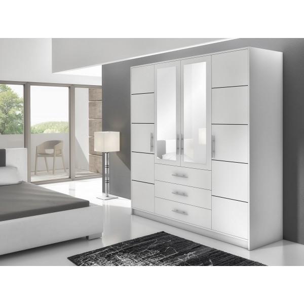 Bedroom Furniture Bali D4 Wardrobe
