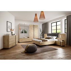 Bedroom Furniture Arco Bedroom Set Artisan Oak