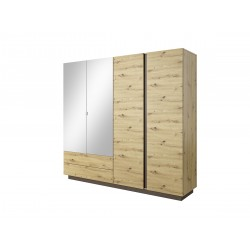 Bedroom Furniture Arco Wardrobe Artisan Oak