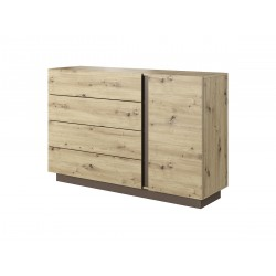 Bedroom Furniture Arco Sideboard Artisan Oak