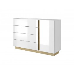 Bedroom Furniture Arco Sideboard White Gloss