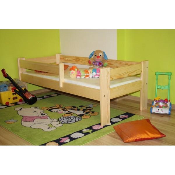 Child Bed Criss with Mattress Pine Oak