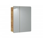 Bathroom Furniture Aruba White Set White Gloss / Oak 600mm