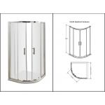 900mm Quadrant Shower Enclosure