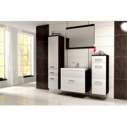 BATHROOM FURNITURE EVO BATHROOM SET MATTE/WHITE GLOSS