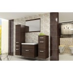 BATHROOM FURNITURE EVO BATHROOM SET WENGE MATTE