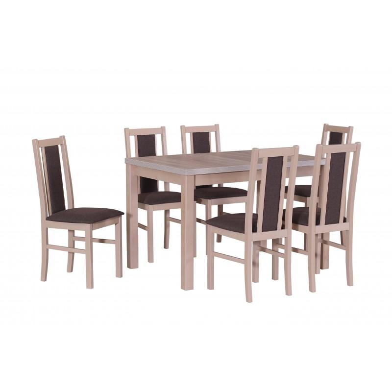 Outstanding Solid Beech Wood Extending Dining Table Set Xiii Frankydiablos Diy Chair Ideas Frankydiabloscom