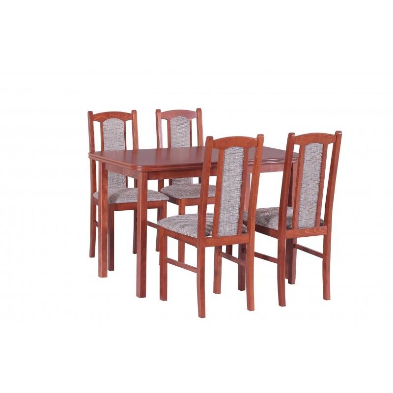 Peachy Solid Beech Wood Extending Dining Table Set V Frankydiablos Diy Chair Ideas Frankydiabloscom