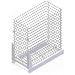 Kitchen Furniture Base Basket Cargo System Storage 300mm
