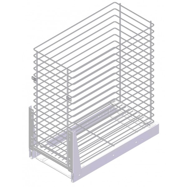 Kitchen Furniture Base Basket Cargo System Storage 500mm