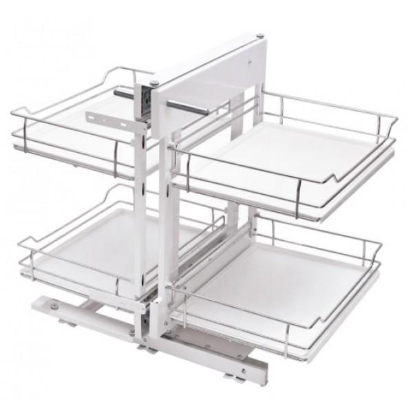 Kitchen Furniture Base Cargo Storage Magic Corner 800mm