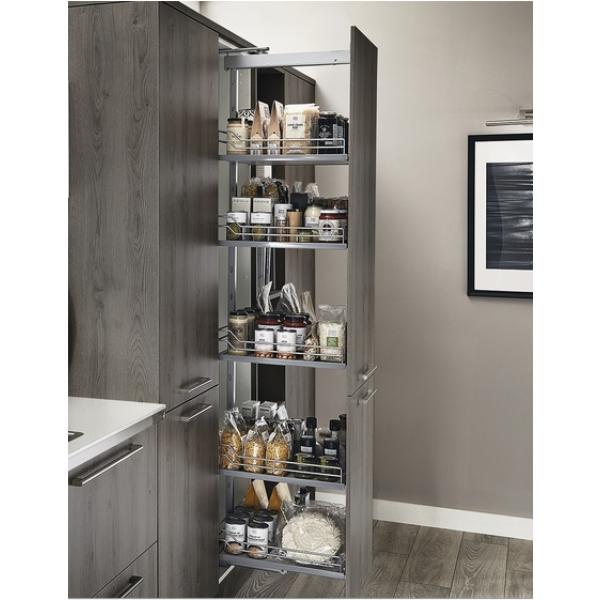 Kitchen Furniture Pull Out Larder System 600mm H1410-1710mm