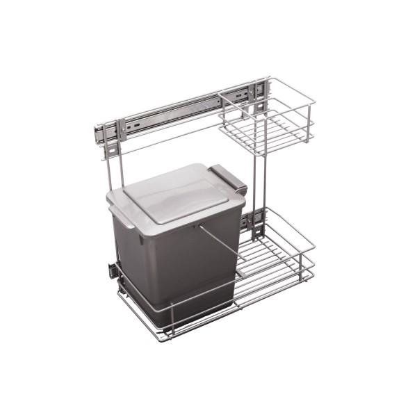 Kitchen Accessories Base Cargo Single Bin 12L 300mm