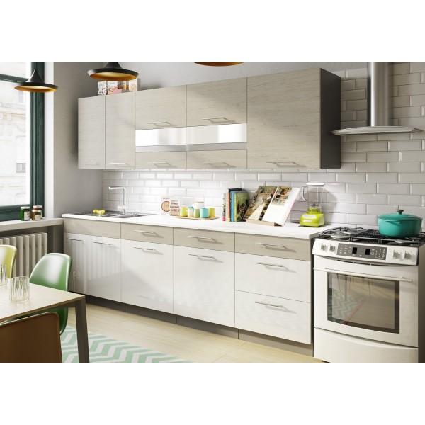 Kitchen Furniture F24 Kitchen Set Acrylic Gloss