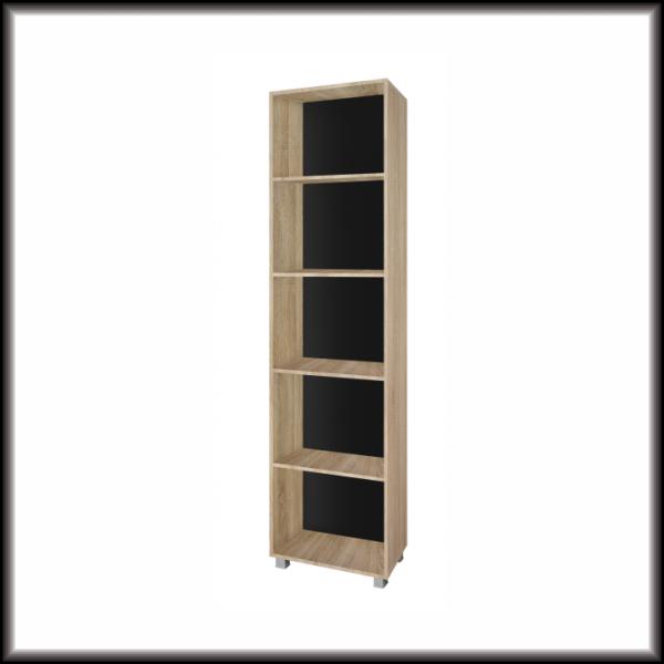 Living Room Furniture Gordia 50 Bookcase Light Oak