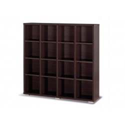 Living Room Furniture Maximus M21 Bookcase Chestnut