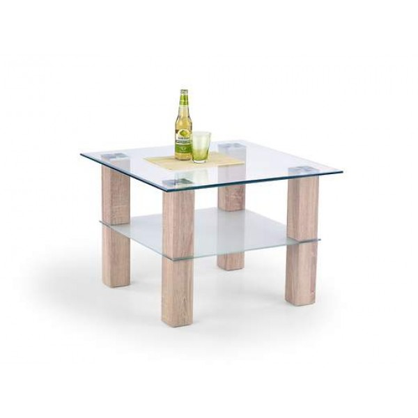 Living Room Furniture Coffee Table Amelia Light Oak