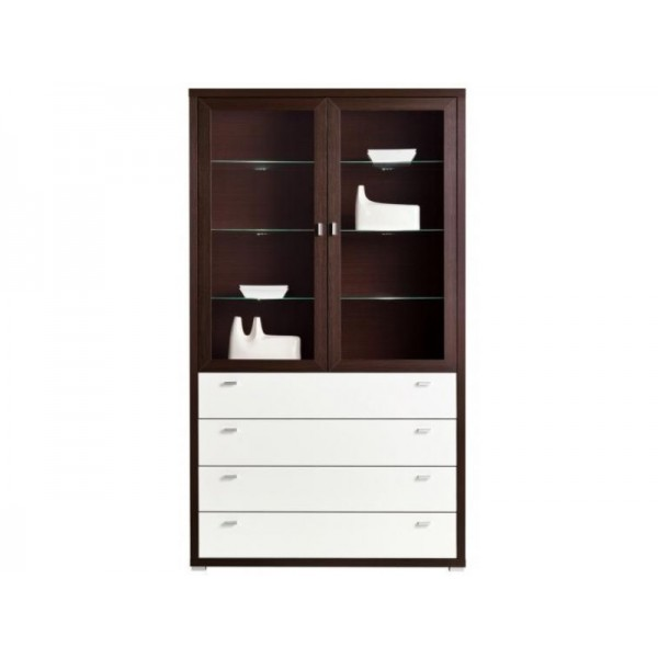 Dining Room Furniture Kendo K1 Display Stand Chestnut / White gloss