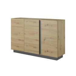 Living Room Furniture Arco Sideboard 2 Oak/Grey