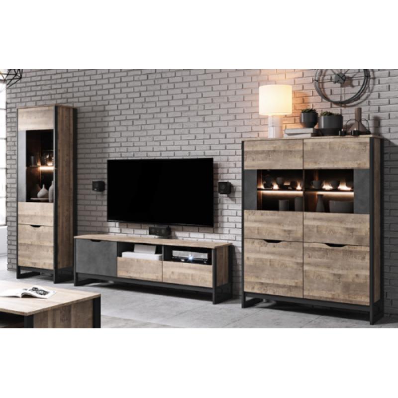 Living Room Furniture Arden Wall Unit, Oak Living Room Furniture Sets Uk