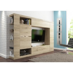 Living Room Furniture Vero Wall Unit Set San Remo Oak