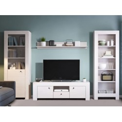 Living Room Furniture Rene Wall Unit Set Andersen Pine